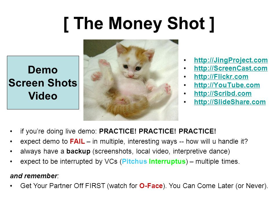 [ The Money Shot ] Demo Screen Shots Video http://JingProject.com